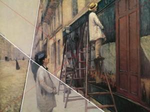 Caillebotte Peintres en bâtiment Trottoir Ciel
