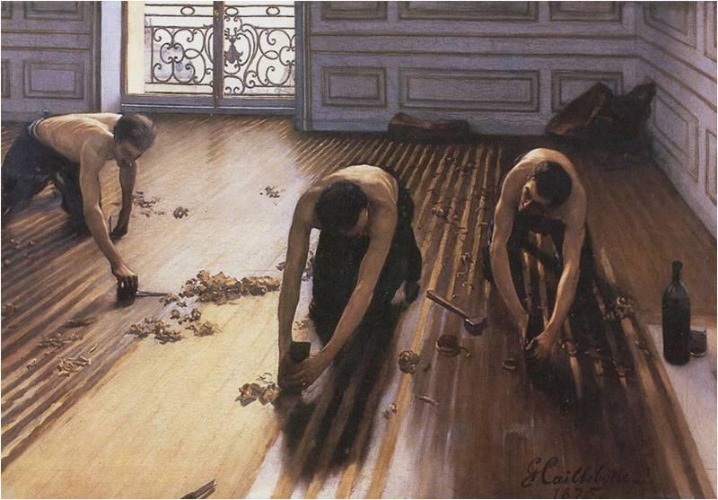 Caillebotte Raboteurs de parquets Orsay Ensemble