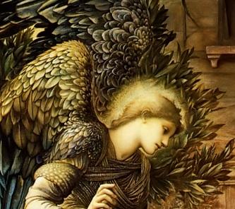 Burne Jones Annonciation Ange Laurier