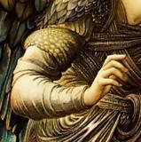 Burne Jones Annonciation Ange Main Droite