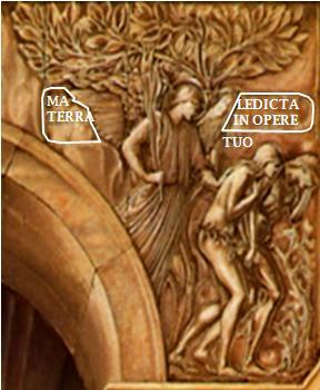 Burne Jones Annonciation Bas Relief droit