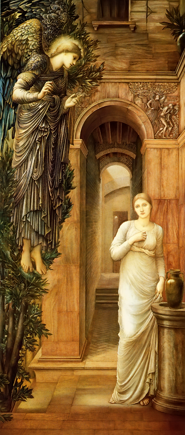 Burne Jones Annonciation