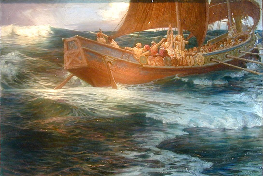 Draper Wrath of the Sea God