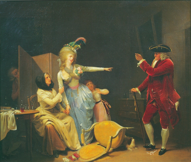 Boilly Amant jaloux