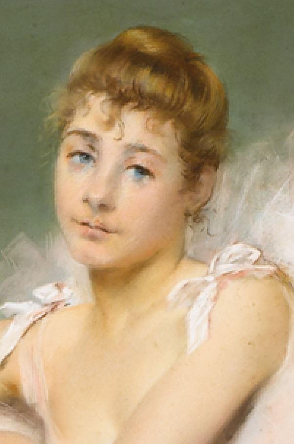 Carrier_Belleuse_Pierre_Danseuse-Ecrivant visage