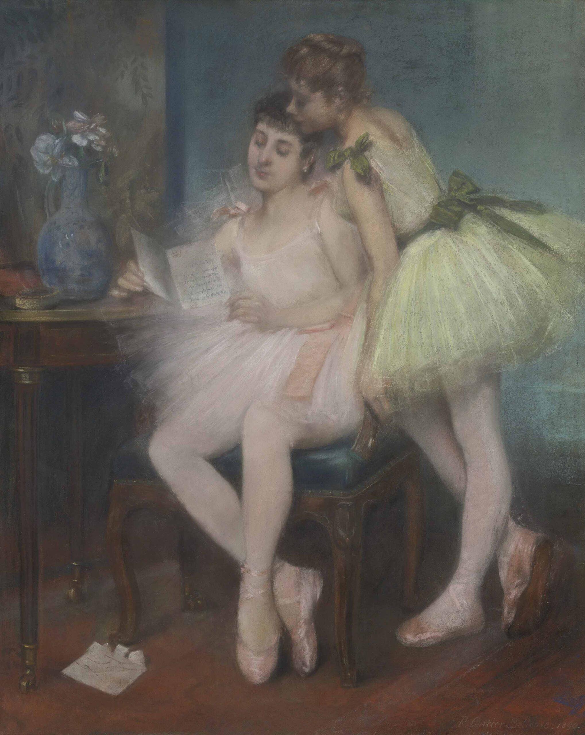 Pierre Carrier-Belleuse 1890 La lettre