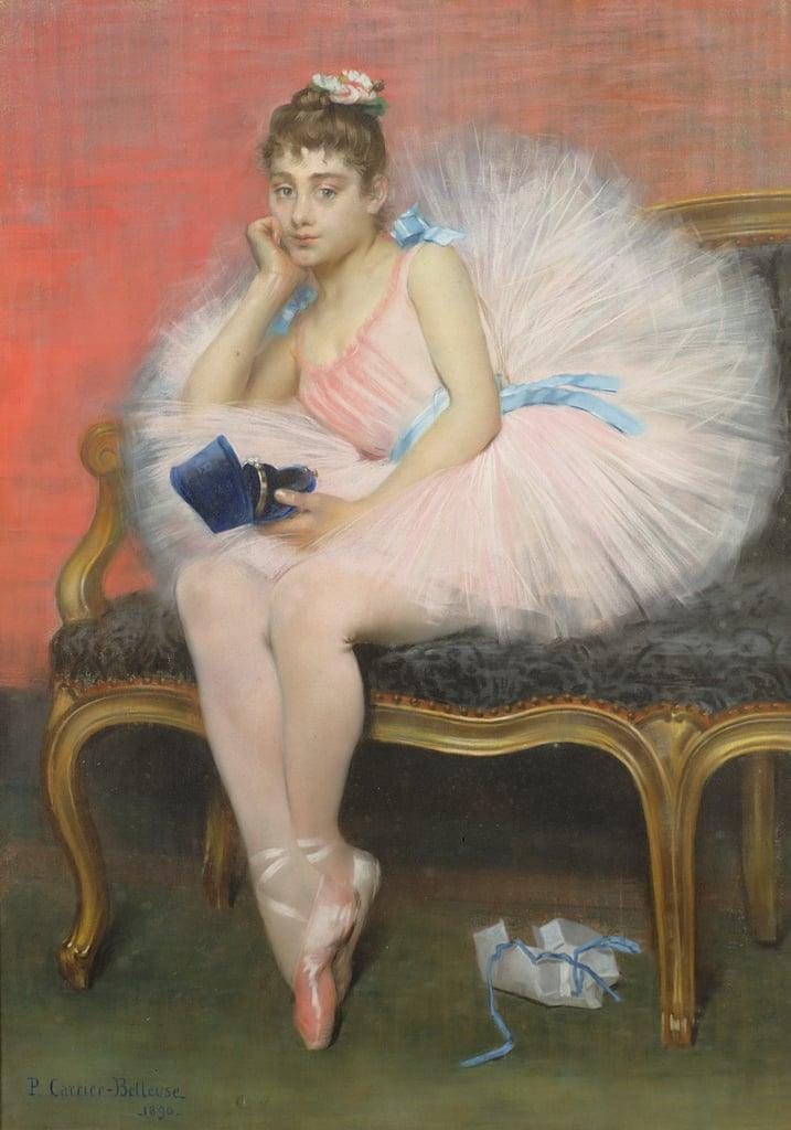 Pierre Carrier-Belleuse 1890 Le present