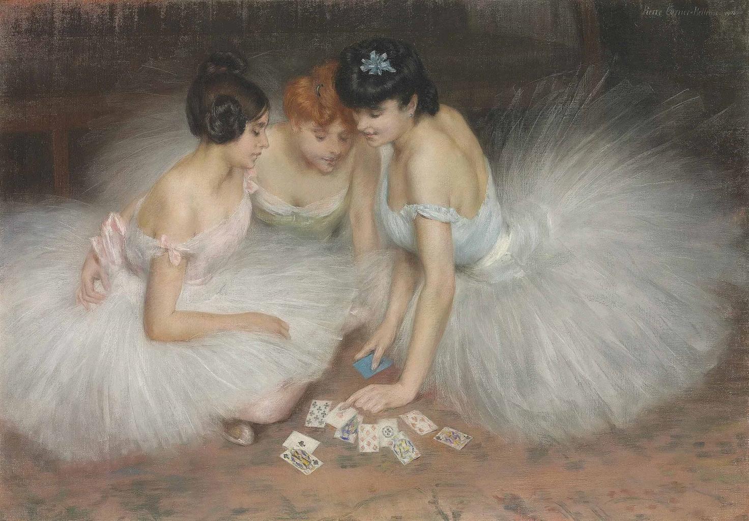 Pierre Carrier-Belleuse 1905 La partie de cartes