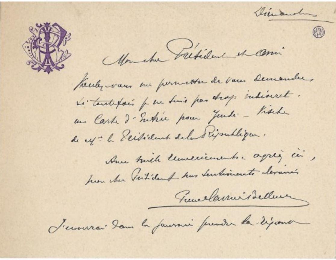 Pierre Carrier-Belleuse Monogramme