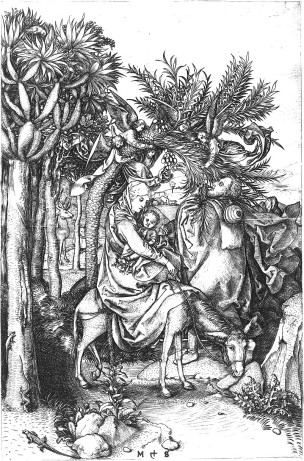 Martin_Schongauer_The_Flight_into_Egypt