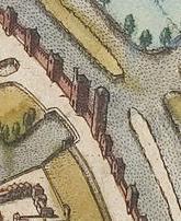 Bruge_map_Civitates Orbis Terrarum 1572