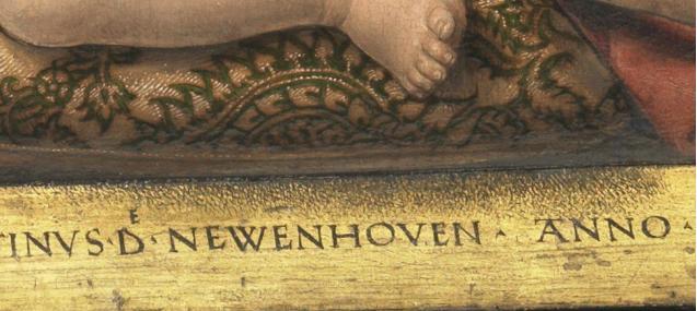 Memling_Maarten _van Nieuwenhove_Detail Ombre