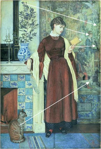 Walter_Crane_At_Home_Portrait Mary Tapisserie