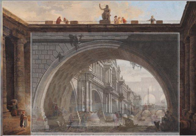 Pont_Sous_Pont_Hubert Robert DunkerquePiranese
