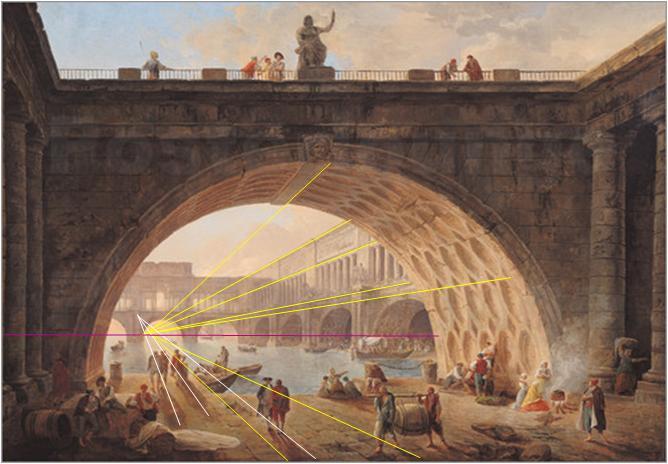 Pont_Sous_Pont_Hubert Robert Dunkerque_Perspective