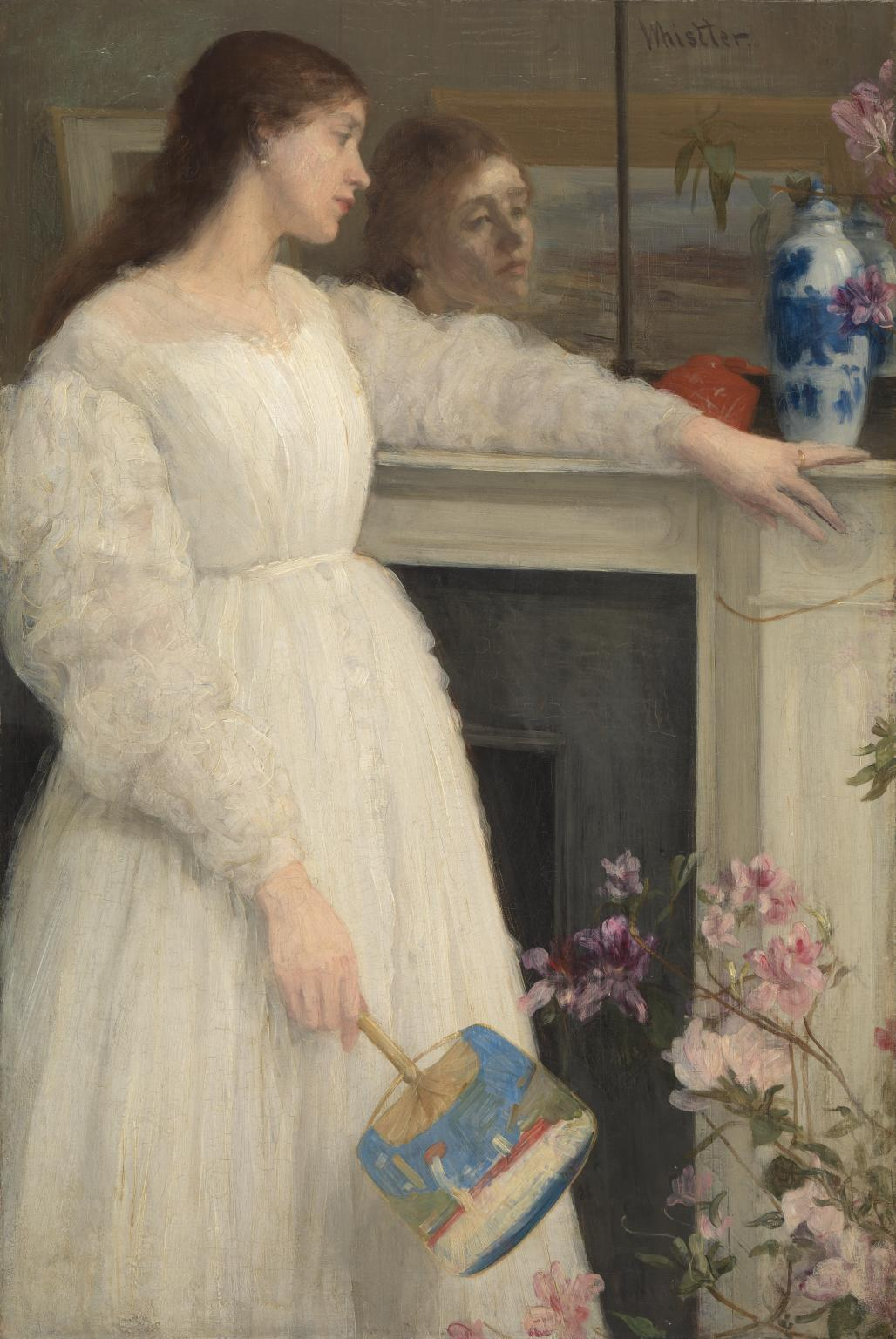 Symphony in White, No. 2: The Little White Girl 1864 by James Abbott McNeill Whistler 1834-1903