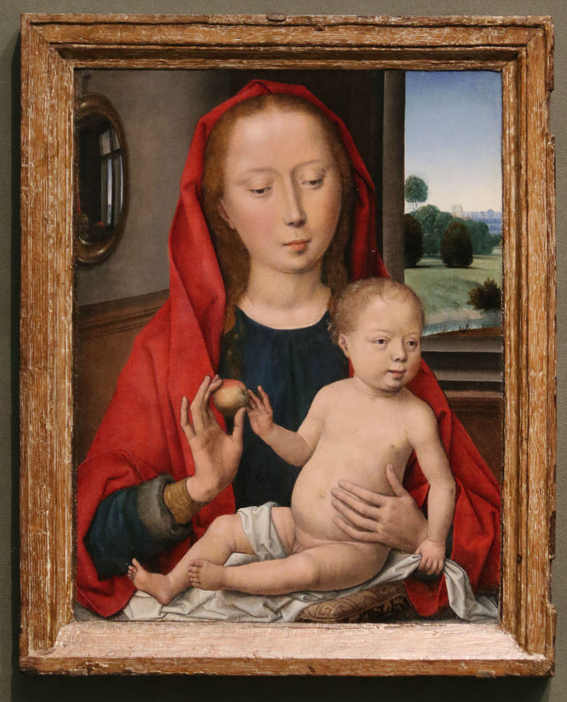 Memling Vierge Chicago Art Institute