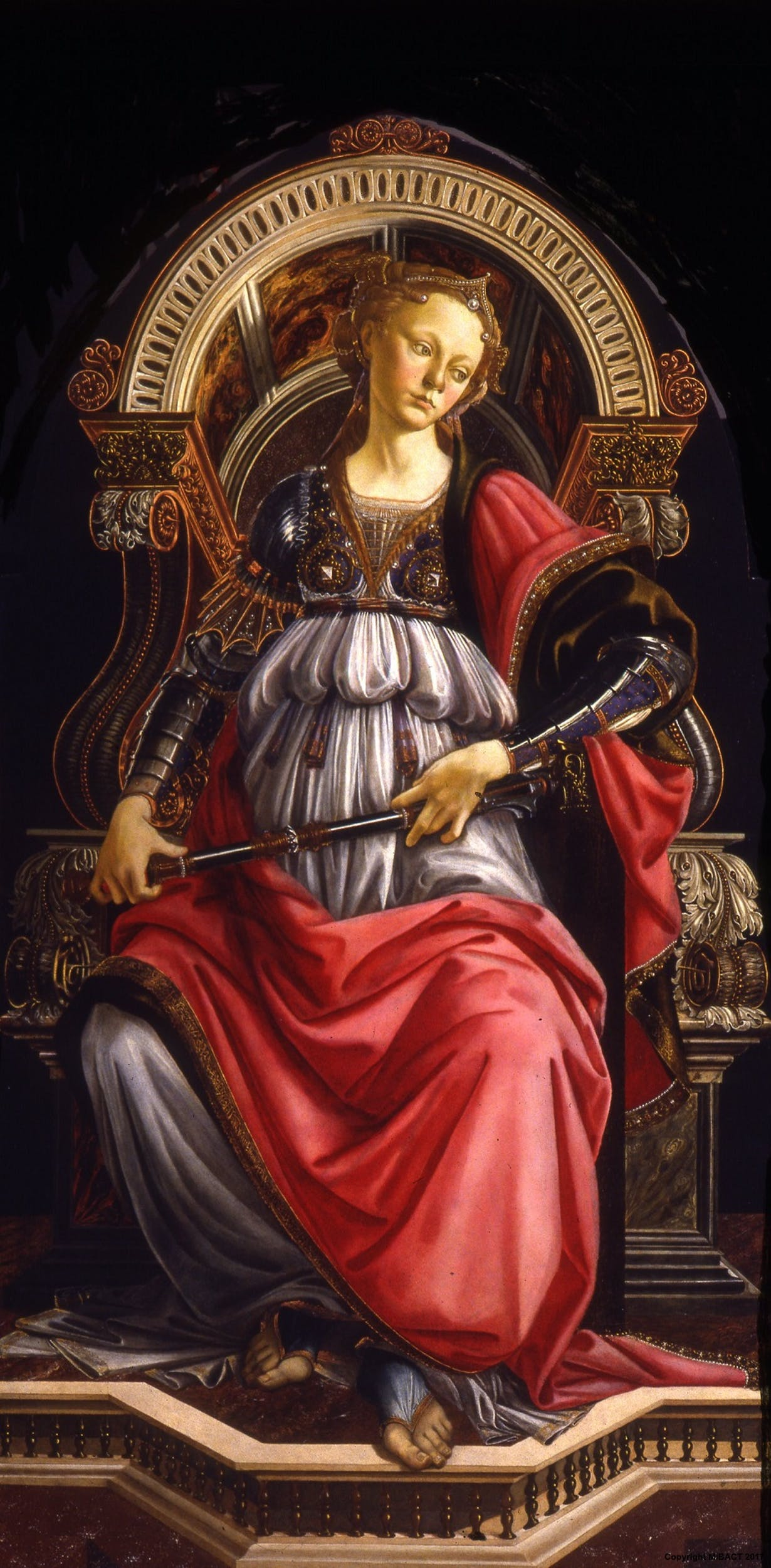 Botticelli 1470 Fortezza Offices