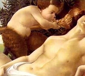 Botticelli_Venus_Mars_Panisque_Conque