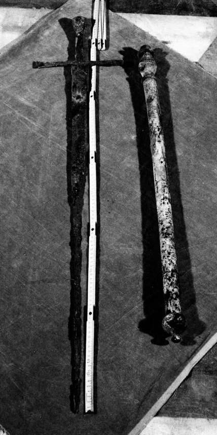 Epee et baton de commandement de Bartolomeo Colleoni 1455-75