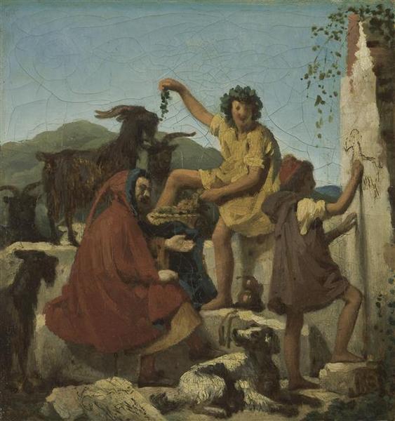 L'Enfance de Giotto Henry Joseph de FORESTIER