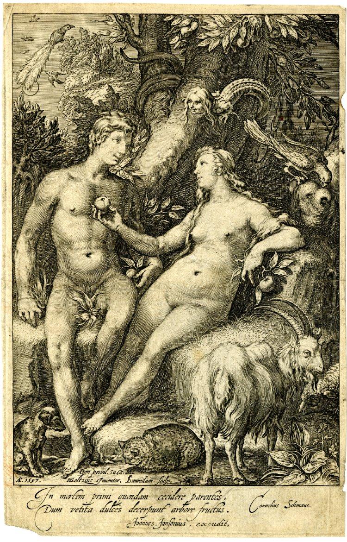 1597_The_Fall_of_Man_Hendrik_Goltzius