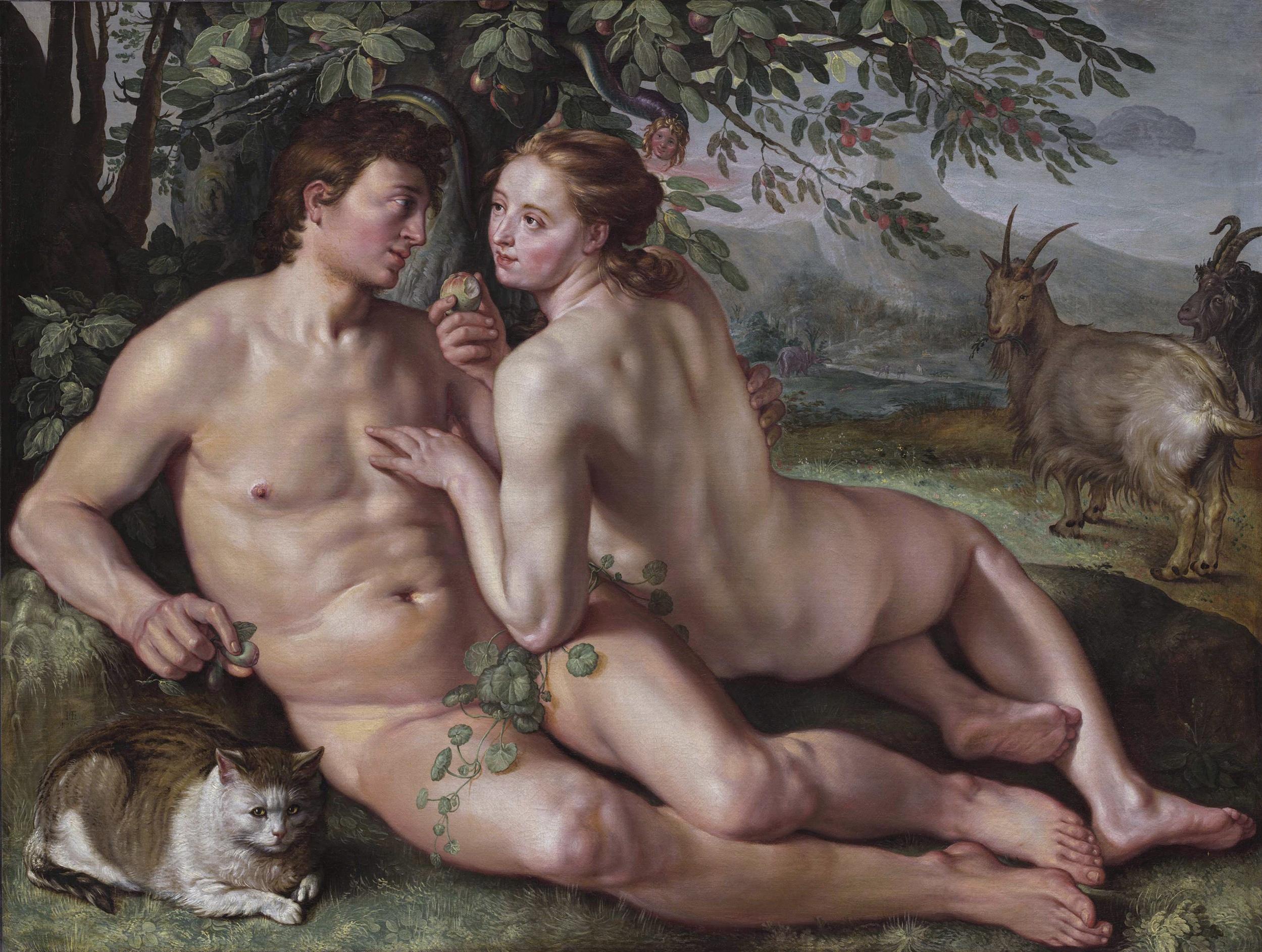 1616_The_Fall_of_Man_Hendrik_Goltzius
