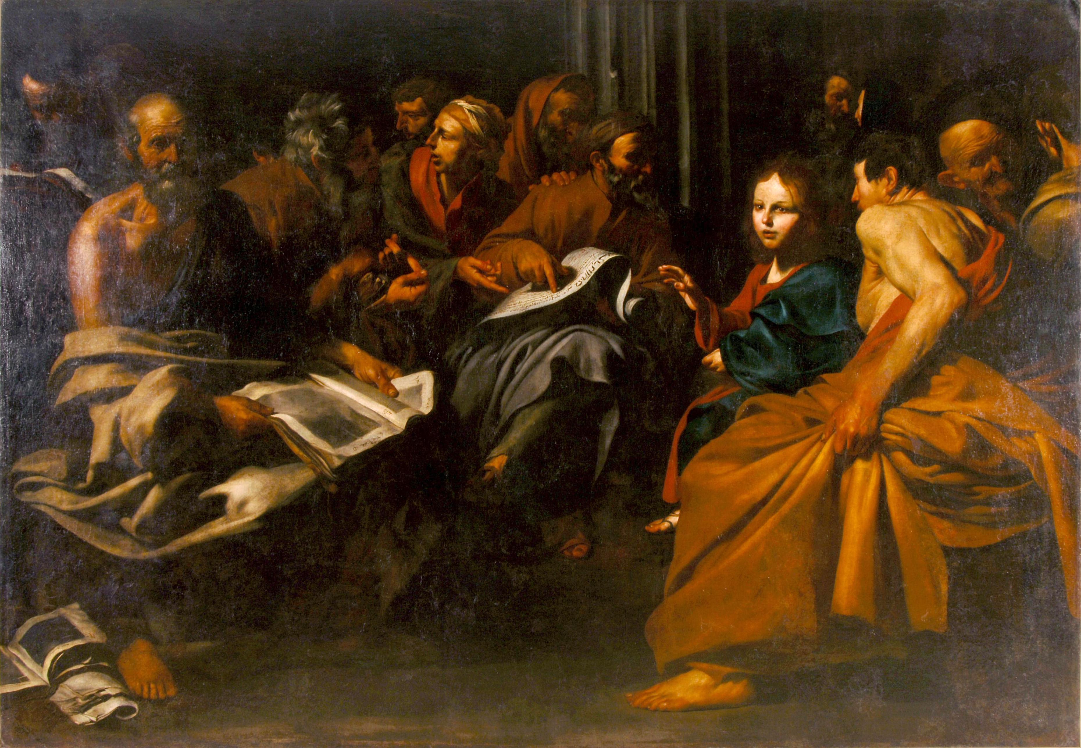 Jésus et docteurs_Maitre Salomon  ou Ribera  Langres