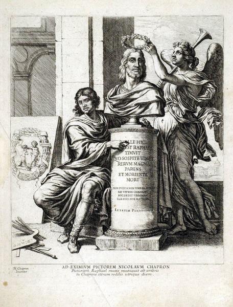 Jugement Salomon_Raphael gravure chaperon