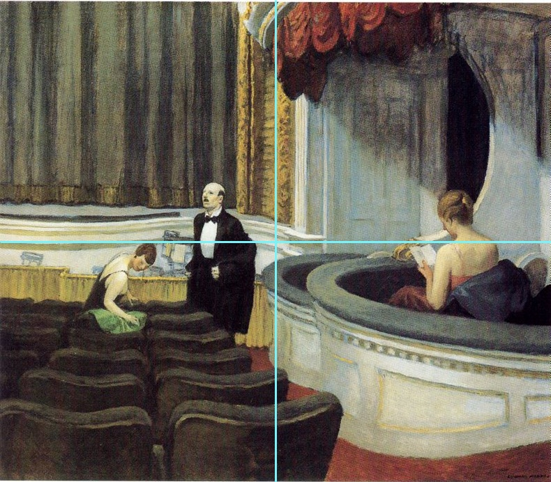 Hopper 1927 two on the aisle-synthese
