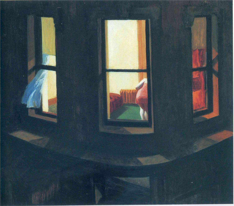 Hopper 1928 Night Windows
