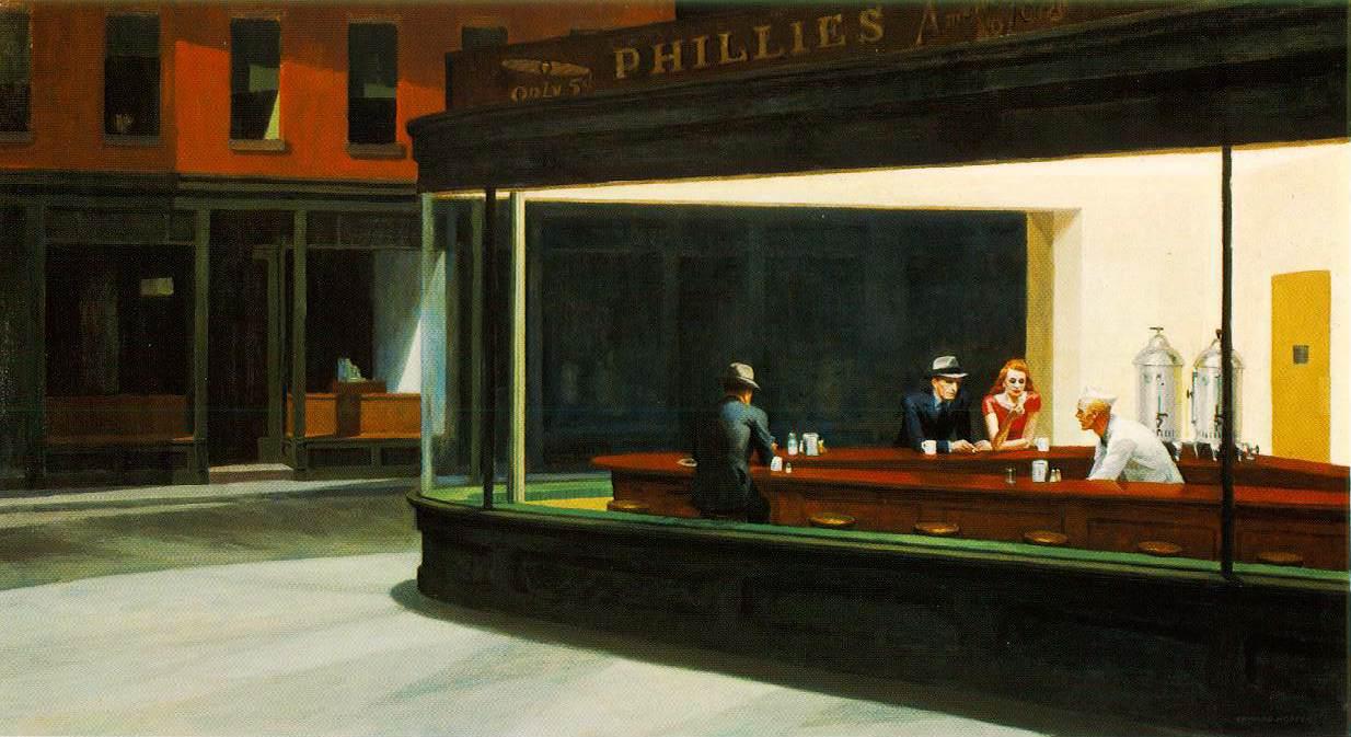 Hopper 1942 Nighthawks