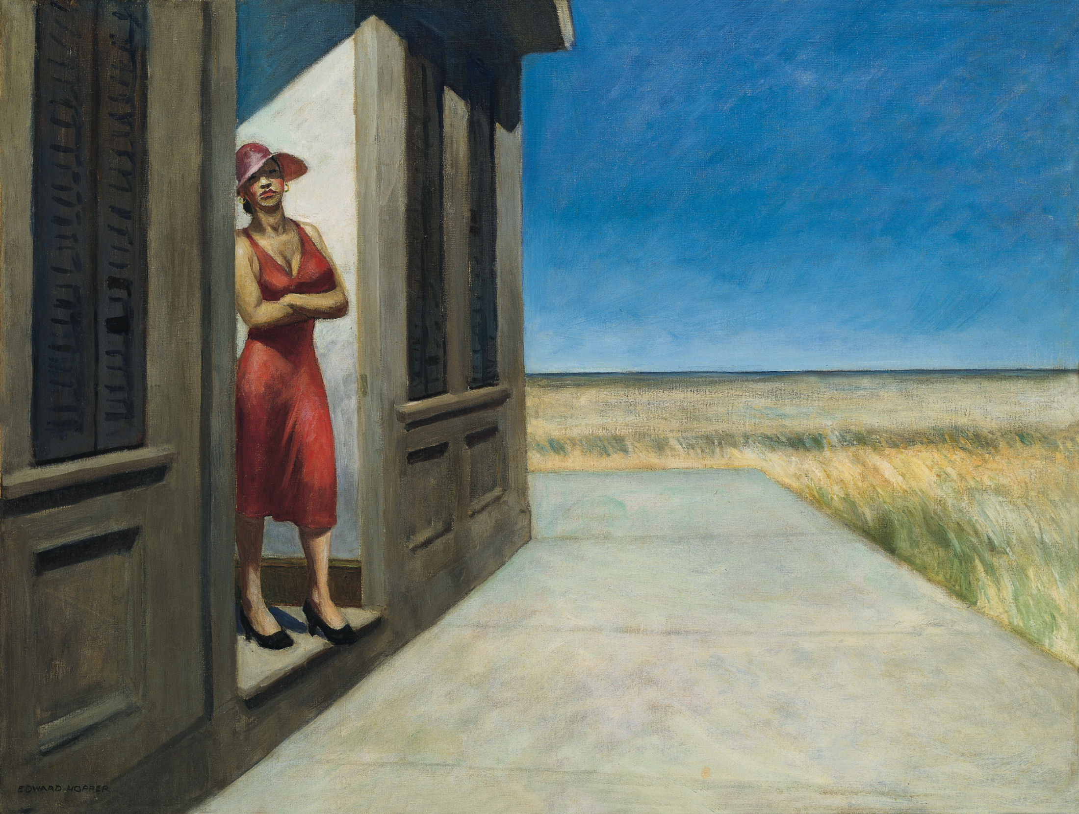 hopper 1955-south-carolina-morning
