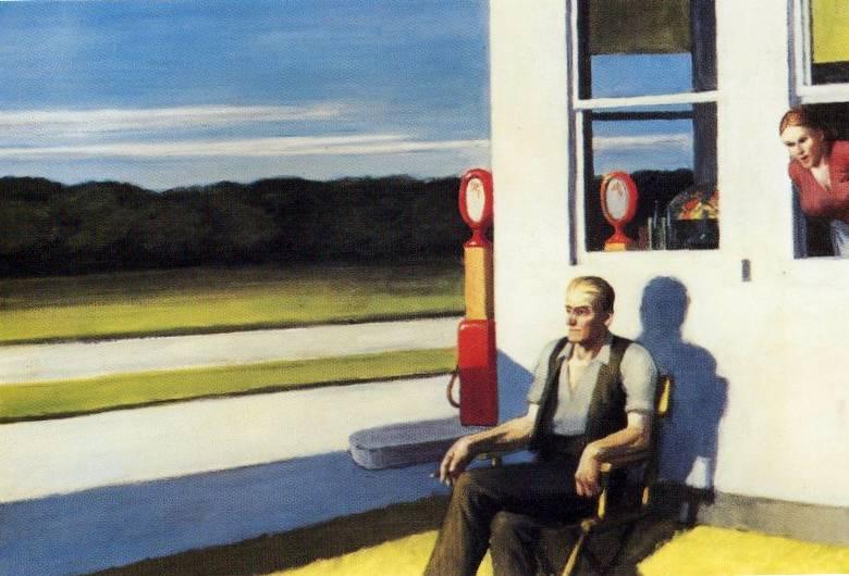 Hopper 1956 Four Lane Road