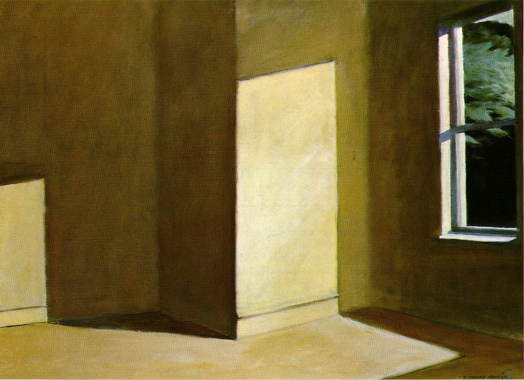 1963 hopper.sun-empty-room