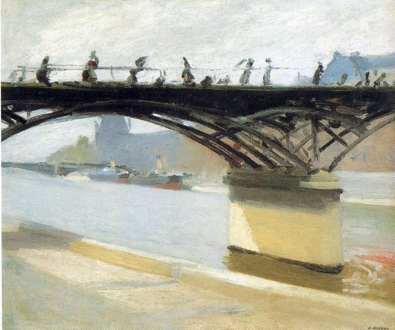 Hopper 1907 Le Pont des Arts