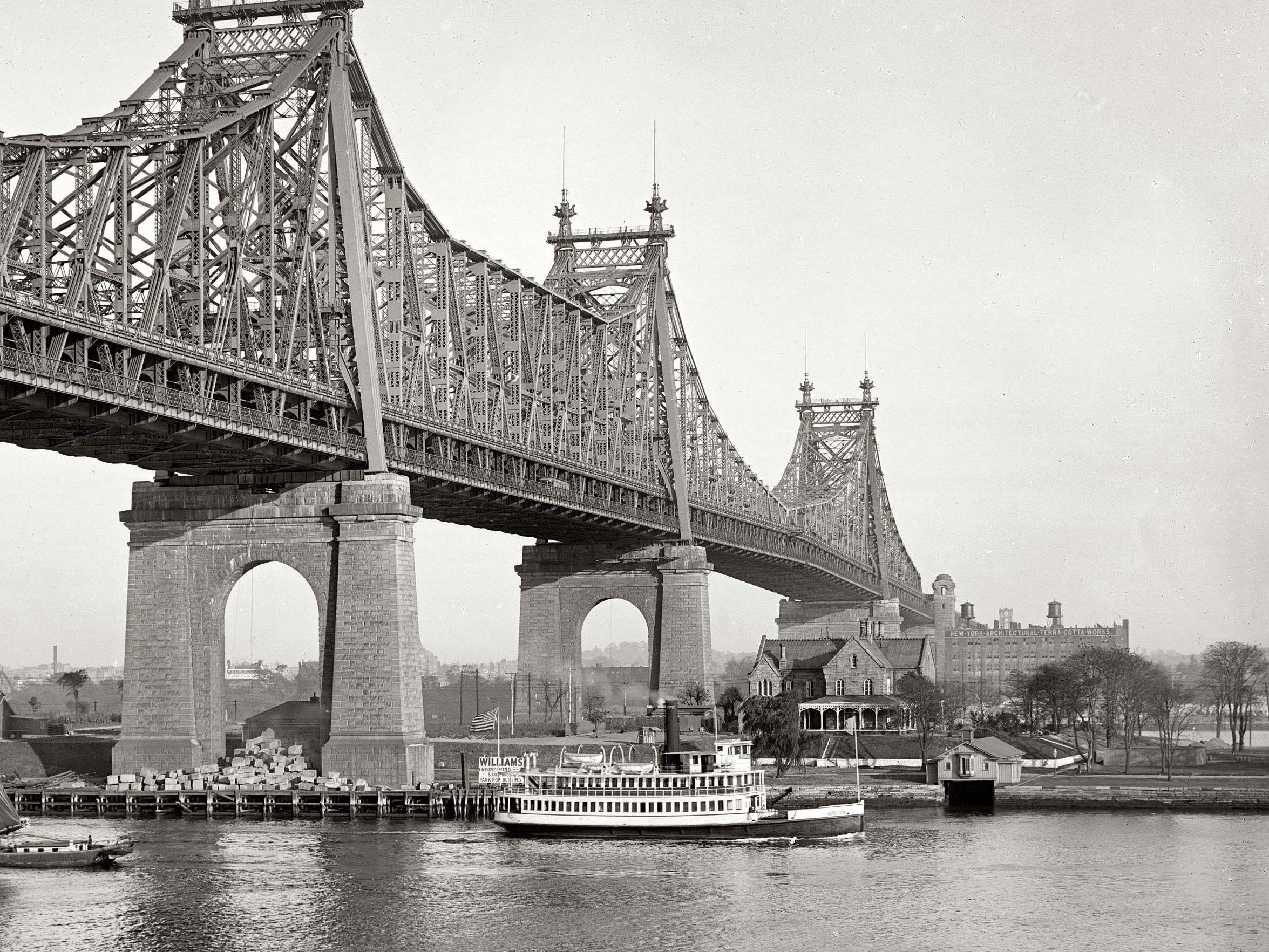 1910 Queensborough Bridge
