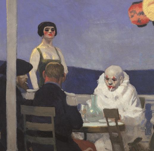 Hopper 1914_Soir_bleu_Centre