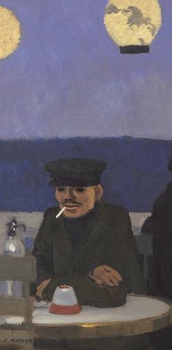 Hopper 1914_Soir_bleu_Gauche
