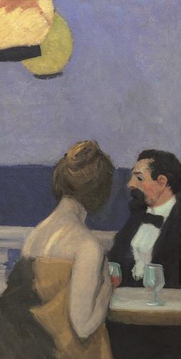 Hopper 1914_Soir_bleu_Panneau droit