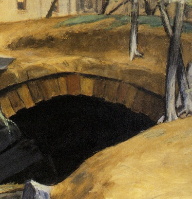 Hopper 1939 bridle-path_arbres