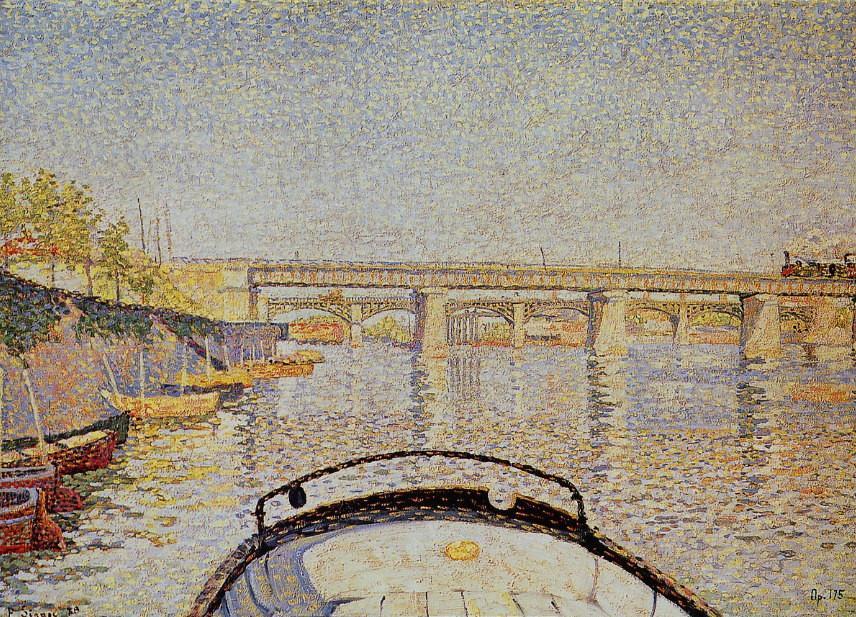 10 signac_arrière du tub _1888