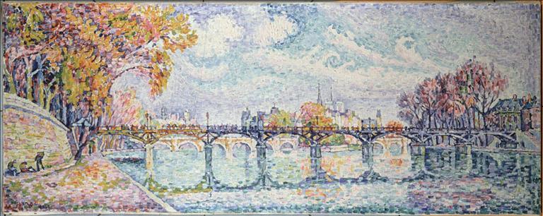 Signac Le pont de Arts