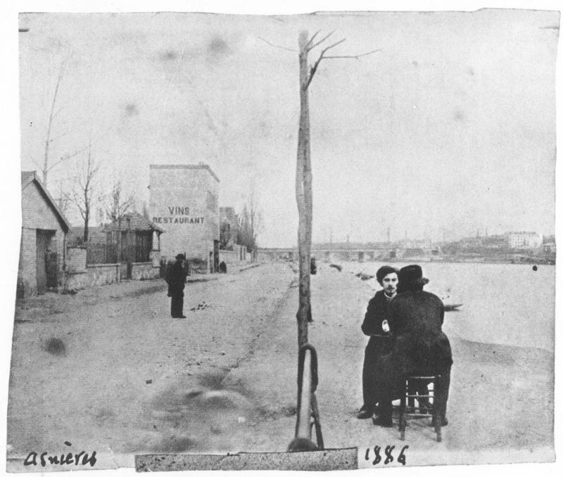 Emile Bernard Vincent Van Gogh 1886
