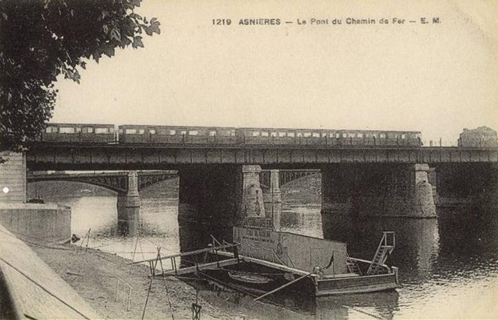 30 Van_Gogh_Ponts sur le Seine à Asnières_carte postale