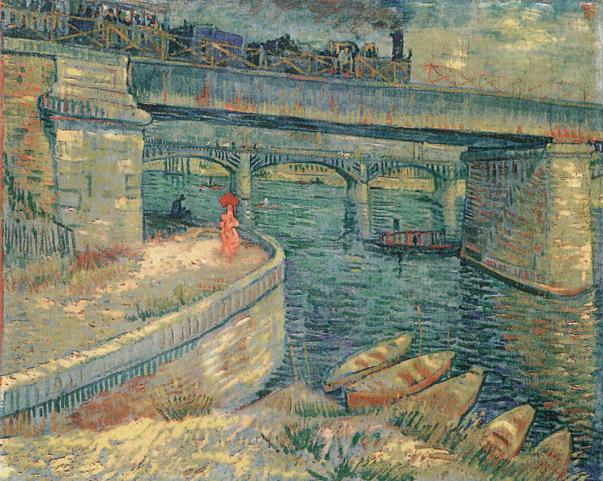 30  Van_Gogh_Ponts sur le Seine a Asnieres