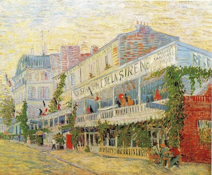 41 Van Gogh the-restaurant-de-la-sirene-at-asnieres-1887 Orsay