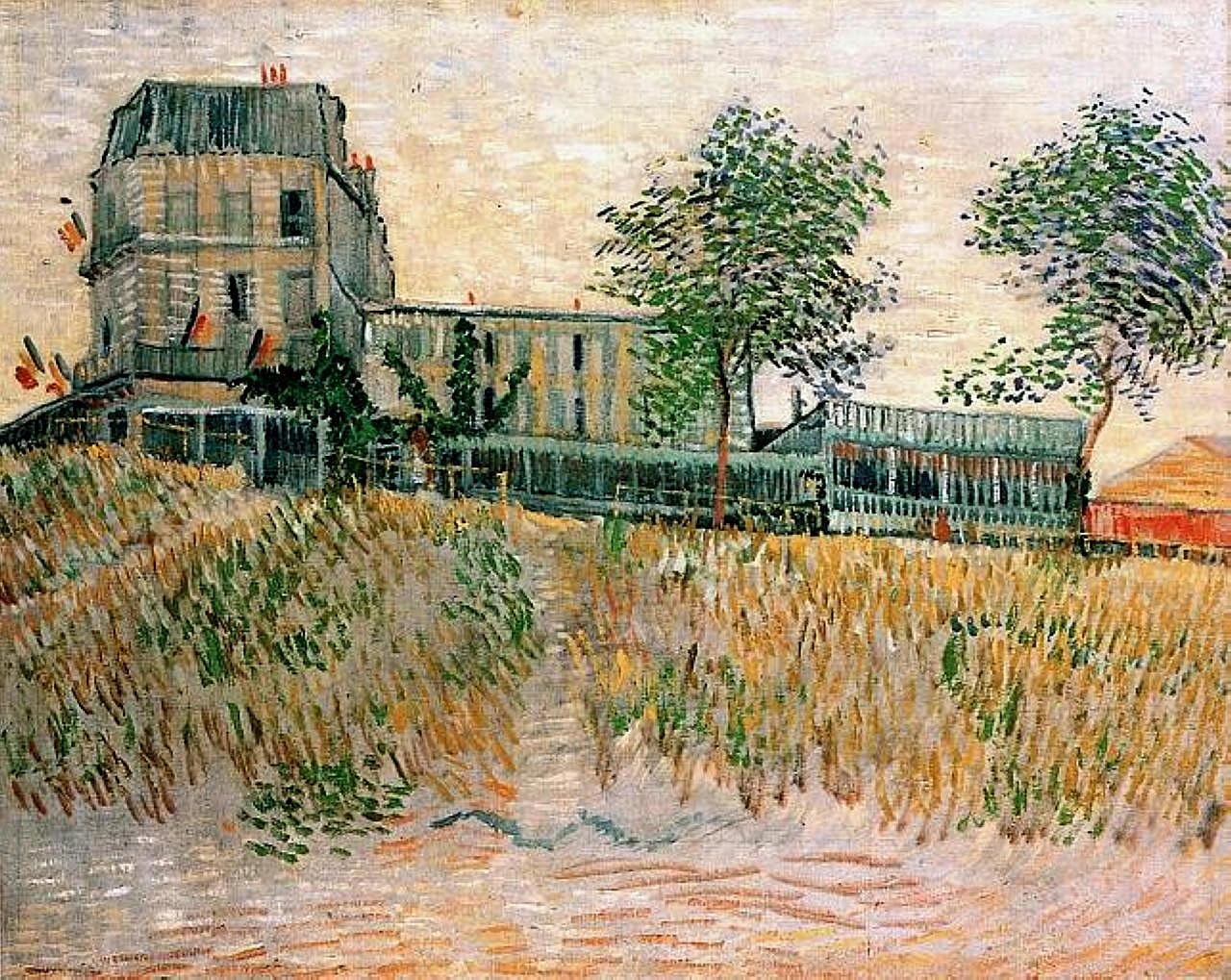 41 Van Gogh the-restaurant-de-la-sirene-at-asnieres-1887