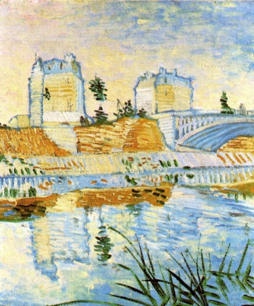 60 Van_Gogh_the-seine-with-the-pont-de-clichy-1887