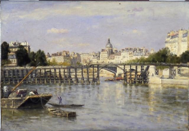 Lepine_Stanislas_Estacade 1880 Walters Art Museum